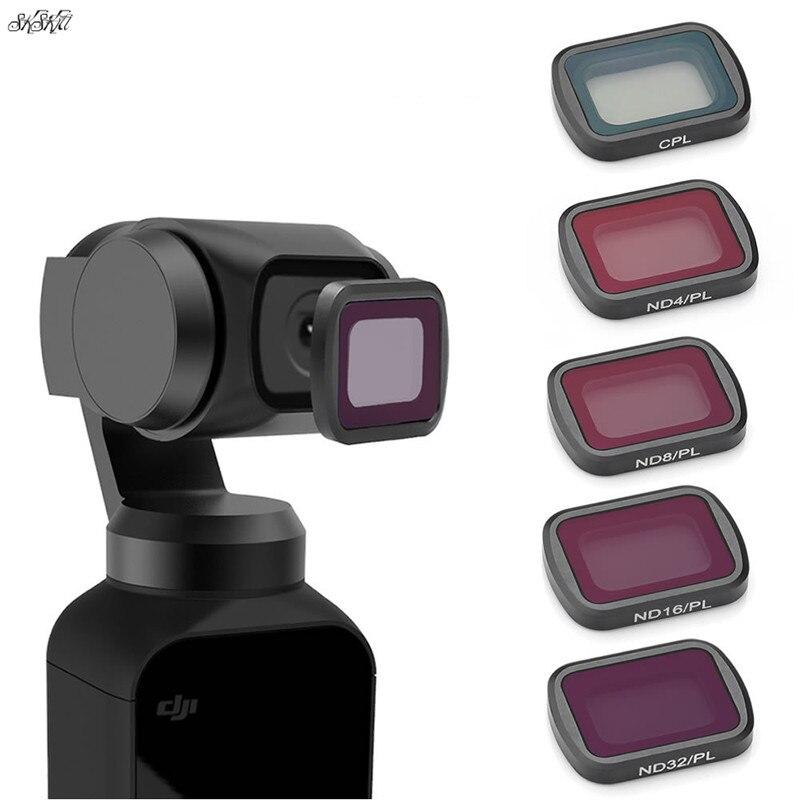 Osmo Tasche objektiv Filter ND-PL ND4 ND8 ND16 ND32 CPL Filter Für DJI osmo Tasche kamera Handheld gimbal zubehör