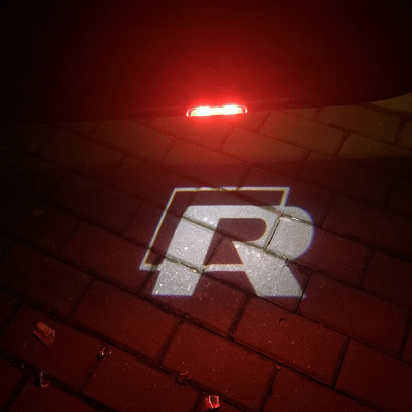 LED Door Courtesy Warning Light With VW Logo Projector FOR VW - Car sign with nameswholesale no drill led car logo with names laser lights with car
