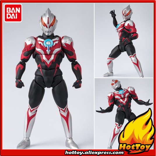 Original BANDAI Tamashii Nations S.H.Figuarts SHF Exclusive Action Figure - Ultraman Orb Thunder Breastar from Ultraman ORB 100% original bandai tamashii nations s h figuarts shf exclusive action figure ultraman suit ver 7 2 from ultraman