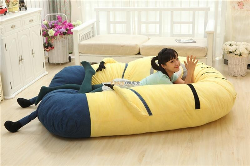 Fancytrader 230cm X 150cm Giant 3D Despicable Me Minion Bed Carpet Sofa Tatami, Free Shipping FT90230 (7)