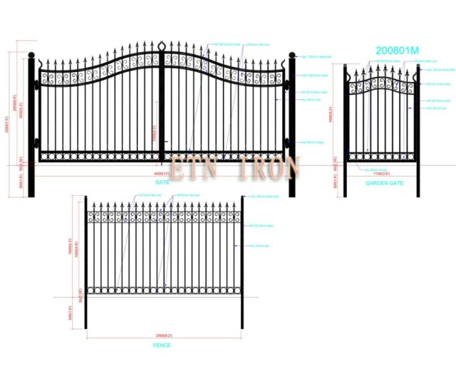 house iron swing gate designs FOR 2013 ETN 200801M_640x640 house iron swing gate designs for 2013 etn 200801m in doors from
