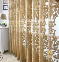 Ocean Curtain New Classical Water Embroidered Embroidery Luxury Window Screening