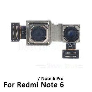 Image 4 - Oryginalna tylna kamera dla Xiao mi mi czerwony mi uwaga 6 6A 7 Pro powrót główny przewód do aparatu kabel
