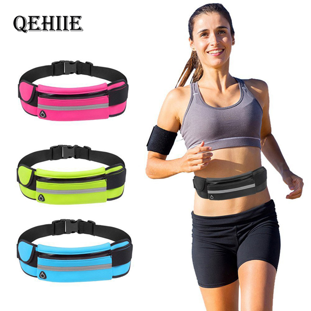 Fashion Mini Fanny Pack For Women Men Anti-theft Movement USB Waist Pack Purse Travel Multifunctional Waterproof Phone Belt Bags