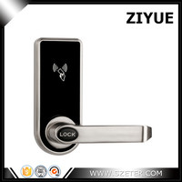 New Arrival Single Latch Mortise RFID Card Key Hotel Door Lock Easy Install and Replace Old Locks