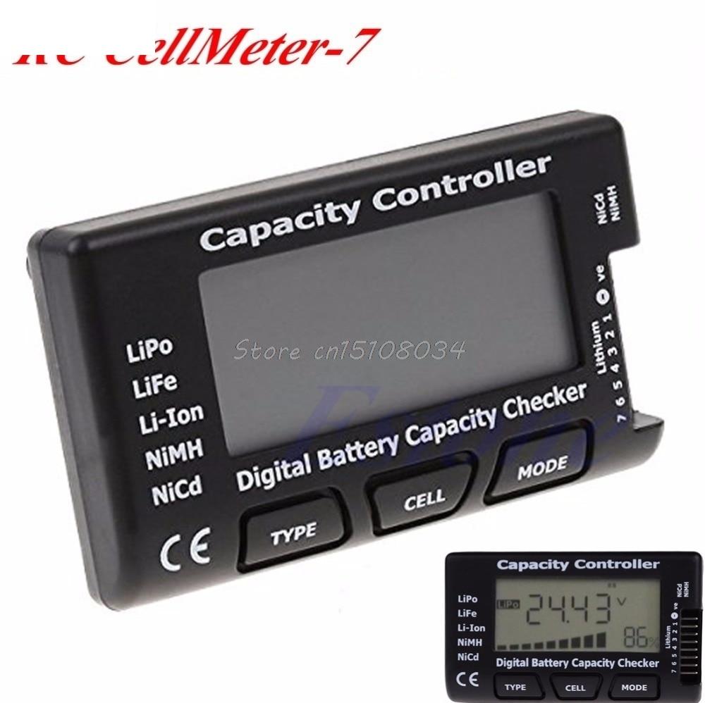 Digitaalne aku mahutavuse kontrollija RC CellMeter 7 LiPo LiFe Li-ion - Mõõtevahendid - Foto 2