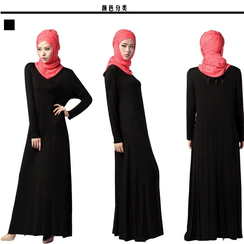 Bubble Tea 2017 muslimanska haljina Žene islamske Dubai Arapska - Nacionalna odjeća - Foto 4