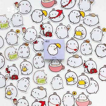 45 pcs/pack Cute Cartoon Animals Paper Stickers For Diary Calendar Albums Decoration Scrapbook Planner Journal Child Diy - discount item  15% OFF Stationery Sticker