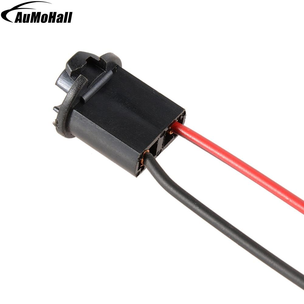 T10 Socket Automobile DC 12V Light Socket Useful Car LED Light Sockets With Two Wires
