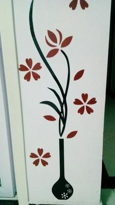 3d wall stickers Flower