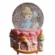 Musicali Musically Muziek Gift Presente Carrossel Muziekdoos Caixa Snow Globe Carousel Boite A Musique Caja De Musica Music Box