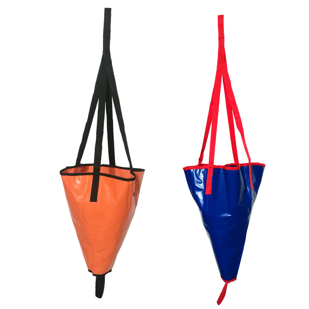 24/18 Inch Kayak Canoe Boat Yacht PVC Sea Anchor Drogue Drifting Brake Suit Fising Inflatable Boat Accessories