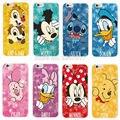 Daisy Stitch Piglet Pato Donald Minnie Mickey de la Historieta Pooh Oso caja Del Teléfono fundas para iphone 4 5 6 7 s plus se 5c samsung