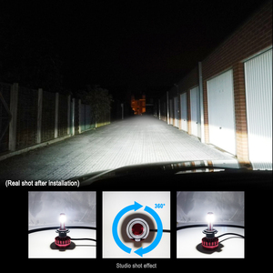 Image 2 - Car Headlight Bulbs LED H7 H8 H9 H11 9005 HB3 9006 HB4 9003 HB2  H4 LED Light Styling Bright 12V 6000K 8000LM  Auto Lamp