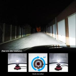 Image 2 - Автомобильные фары светодиодсветодиодный лампы H7 H8 H9 H11 9005 HB3 9006 HB4 9003 HB2 H4 светодиодсветильник лампы для стайлинга яркие 12 в 6000K лм автомобильная лампа