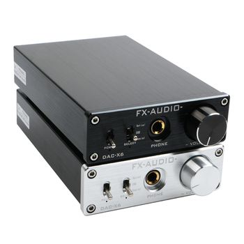 FX-Audio DAC-X6 HiFi Optical/Coaxial/USB Digital Audio Amplifier DAC Decoder with Headphone Output AMP SA9023 OPA2134 himing rivals el34 aluminum tube amplifier hifi exquis headphone output bluetooth handmade scaffolding panel rhel34apb