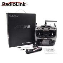 Radiolink AT9S פרו 2.4G 9CH מערכת משדר עם R9DS מקלט AT9 שלט רחוק עדכון ראיית עבור RC quadcopter מסוק