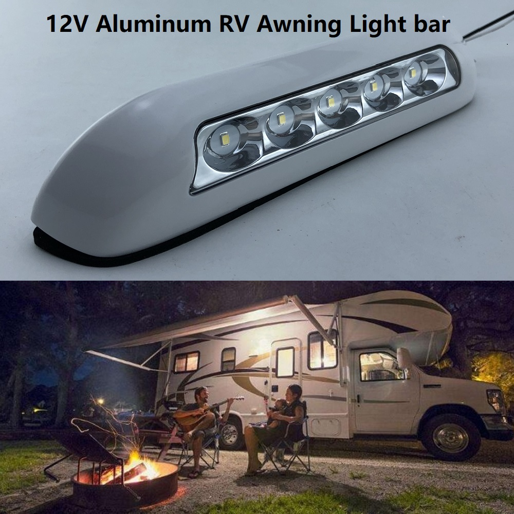 Awning Light RV Caravan 12V LED Waterproof Yacht Camper Travel Trailer