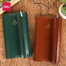 Deli SZ600 นักเรียน Account Book Professional Core สามกระเป๋า PLUS ผ้าพันคอฟังก์ชั่นสองอุปกรณ์ Pencilcase