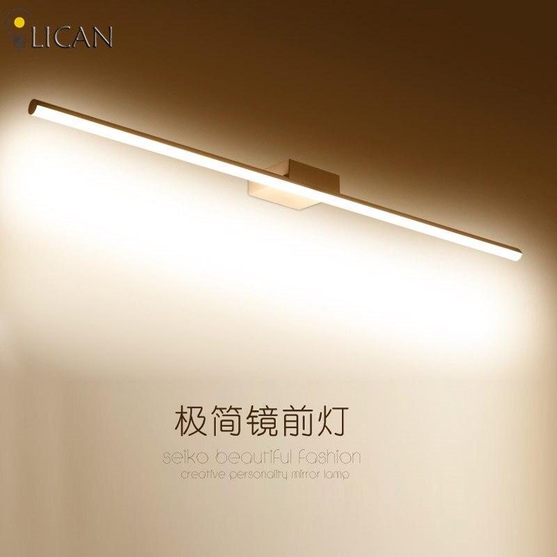 Miroir avant lumière mur LED lampes murales salle de bain appliques applique murale miroir de salle de bain à LED lumières 100 cm 80 cm 60 cm