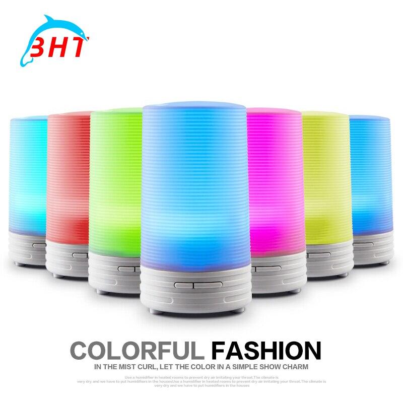 Ultrasonik Aromaterapi USB Hava Nemlendirici Sisleyici LED Gece Lambası Aroma Difüzör Mist Maker Için Difüzör Araba Ev Ofis