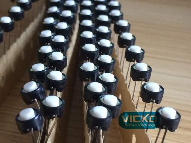 [VK] Original Japan ALPS Mixer Internal buttons SKRGABD010 Tact Switch 2  feet 6 2*4 3MM 6 2*4 3 6 2x4 3mm for Pioneer
