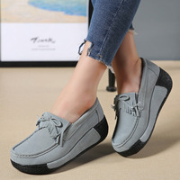2018 Platform Women Vulcanize Shoes Moccasins Ladies Mother Leisure Comfortable Summer Footwear Women Casual Shoes DT1481