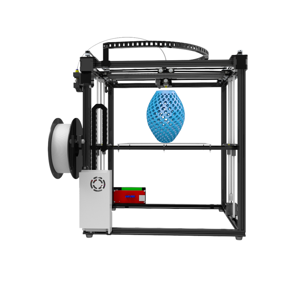 TRONXY X5S 3D Printer Kit 3D Printing Size 330*330*400mm Aluminum Frame Large 3D Printer 20-150 mm/s LCD DIY Heated Bed Extruder
