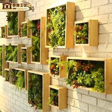 Simulation Plant Wall Green Decoration Artificial Lawn DIY Background Creative Flower