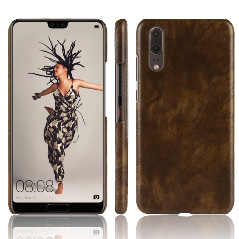 For Huawei P20 Case P20 PRO Case PU Leather Hard Plastic Back Cover Phone Case For HuaweiP20 P20PRO Phone Shell
