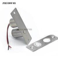 DIY DC 12V Gate Door Access Control System Electric Magnetic Glass Door Lock Drop Bolt Deadbolt