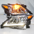 For Lexus LX570 LED Head Lamps with Projector Lens 2010-2014 Year