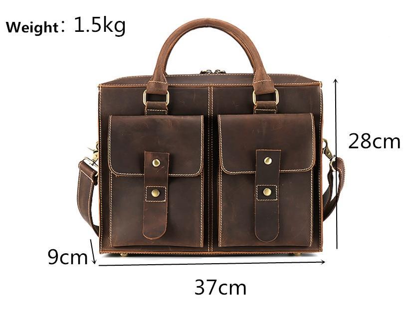 genuine leather briefcase (3)