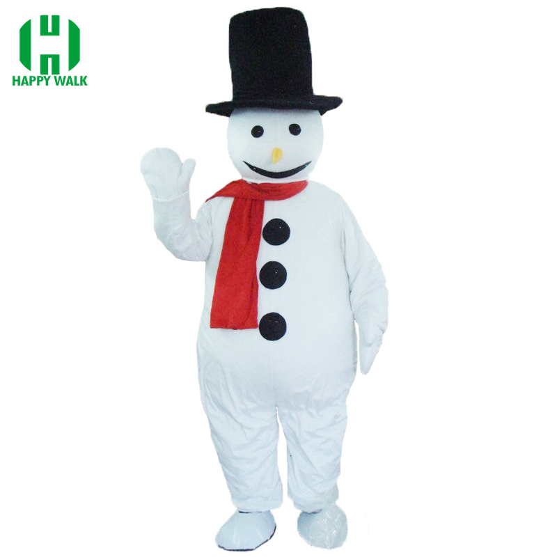 High Quality Carnival Party Olaf Snowman Mascot Costume Adult New Olaf Mascot Costume Fancy Dress Clothing Christmas Party Suit