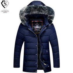 Brand men s duck down jackets 2016 winter luxury big fur collars business casual parka men.jpg 250x250