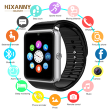 Купить с кэшбэком Fashion GT08 Smartwatch For Huawei Watch For Xiaomi Smart Watch For Iphone Relogio Phone Call Big Battery SD Card Touch Screen