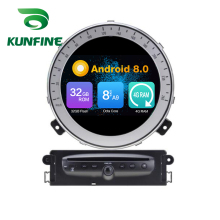Octa Core 4 GB di RAM Android 8.0 Navigazione Dell'automobile DVD GPS Multimedia Player Car Stereo per BMW Mini Cooper Dopo 2006-2013 Anno