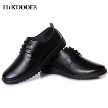 New Arrival Men Slip On Leather Shoes Black Business Flat Shoes zapatos hombre vestir Top Quality Men Formal Shoes heinrich summer new quality men shoes leather for men business dress shoes leather lace breathable men shoes zapatos de vestir