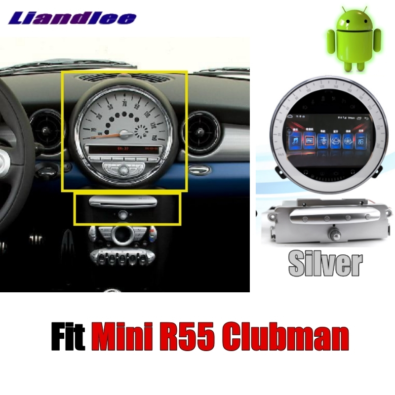 Discount Liandlee Car Multimedia No DVD Player NAVI For Mini Clubman R55 2007~2014 Android system Car Radio Stereo GPS Map Navigation 1