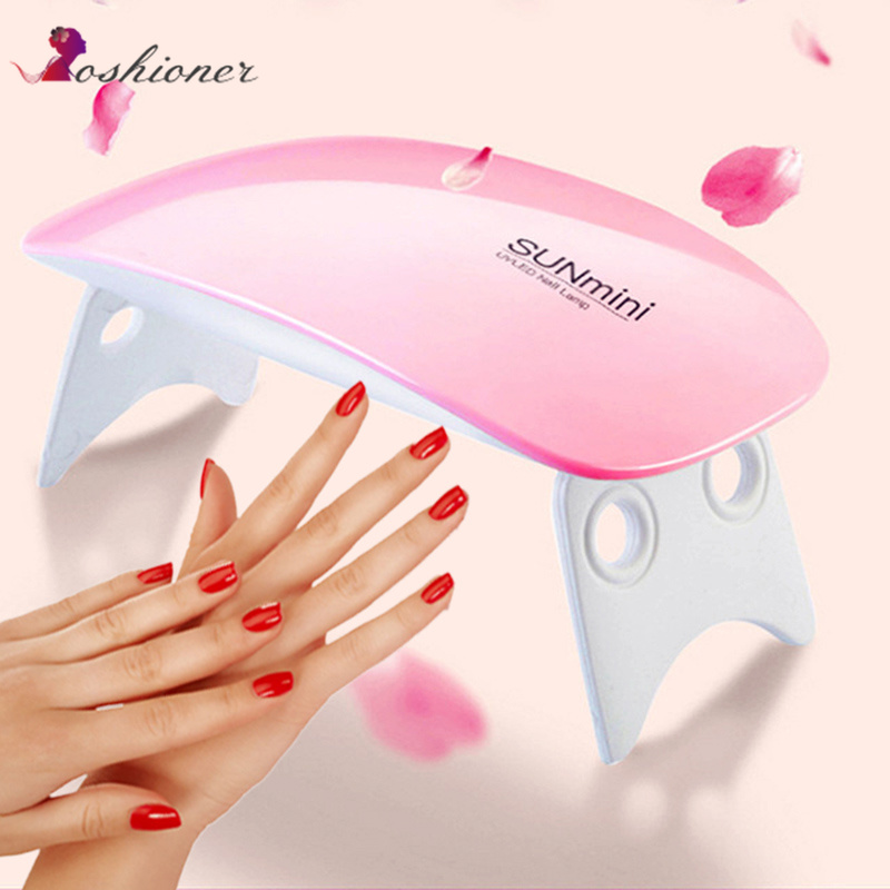 Beauty & Health Nails Art & Tools 6w Led Uv Nail Dryer Curing Lamp 60s Timer Usb Portable For Gel Nails Based Polishes