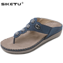 SIKETU Brand Women Shoes Comfort Beach Slippers Summer Fashi