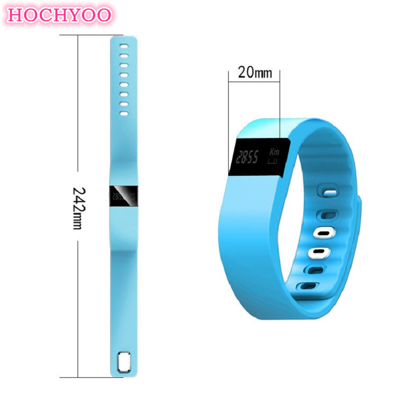 Bluetooth Bracelet Heart Rate and Sleep Monitor Smart Sport Bracelet Trackers Or