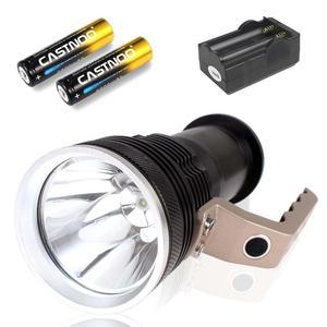 CASTNOO супер яркий 6000lm T6 перезаряжаемый фонарик 18650 Алюминиевый Фонарь