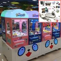 Arcade Toy crane machine kit with crane mainboard game motherboard, 53cm gantry, stainless steel claw, power supply, push button