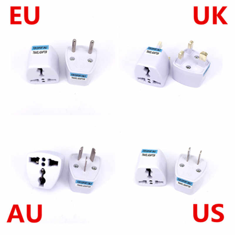 Uniwersalny WB USA UE Adapter wtyczki AU Australia podróży europejskiej w Adapter elektryczny wtyczka konwerter AC zasilania gniazdo ładowarki wylot