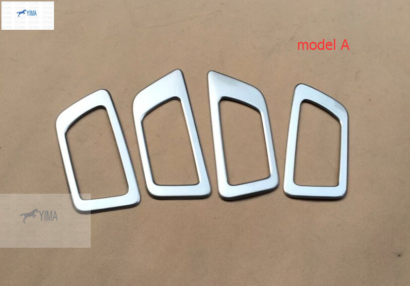Accessories For Toyota Highlander 2014 2015 2016 ABS Inner Door Handle Bowl Cover Trim Decorative Strip