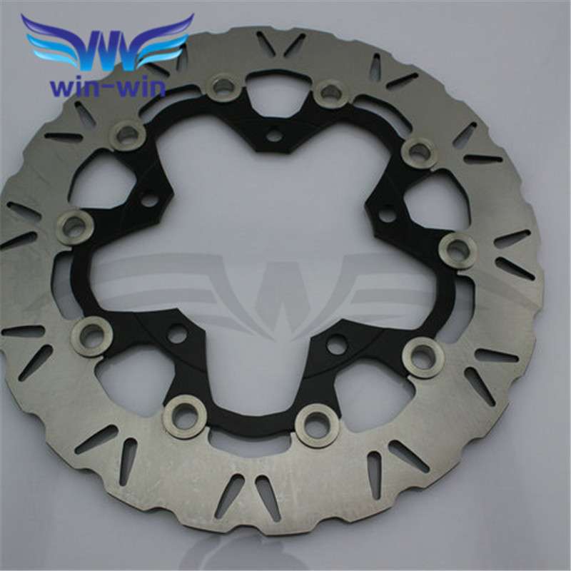 new brand  2 pieces  motorcycle accessories  Front  Brake Disc Rotor   for  SUZUKI GSF650 BANDIT ABS/NON 2007 2008 2009