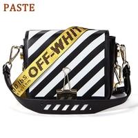 Off White Bag Famous Shoulder Bag Women Designer Real Leather Flap Crossbody Bag Luxury Totes Multifunction brands Bag bolsa
