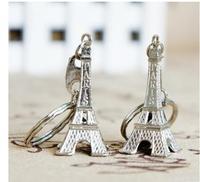 wholesale 200PC Manufacturer authentic souvenirs Eiffel Tower key ring crafts large room world famous