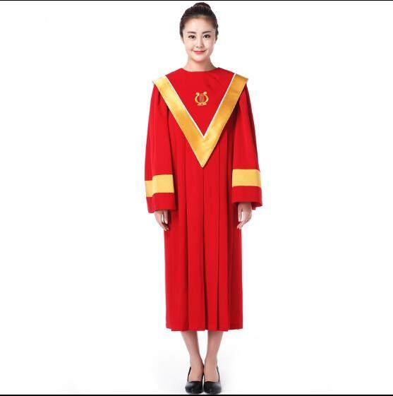 Online Shop Autumn 2017 Christian church choir dress Woman Clergy ...